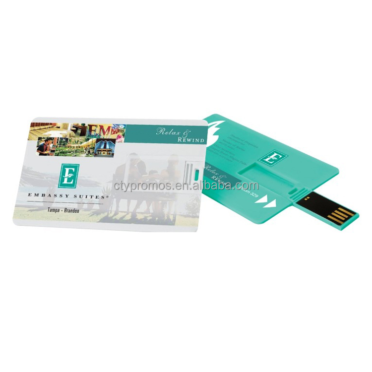 Custom High speed Credit Card USB Flash Drive
