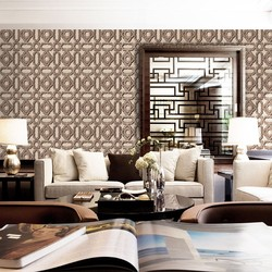 106cm MOONRIVER 3d wallpapers wall paints for home decoration new style ganpati