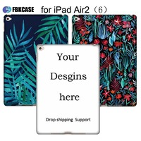 Hot products for 2018 Custom OEM Cover for iPad Air 2 Smart Case for iPad custom case