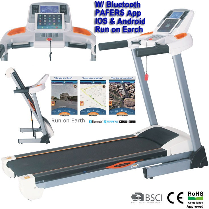 GS-242i Indoor Motorized Treadmill with Bluetooth iPhone&iPad Compatible