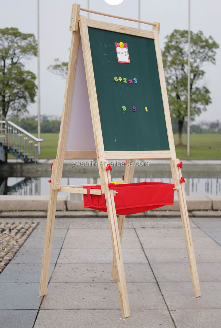 wooden painting easel / wooden easel drawing easel sketch easel / collapsible easel / educational toys for kids