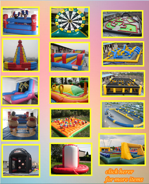 customizable long inflatable city street water slide