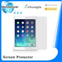 free samples 9H tempered glass screen protector for ipad 2/3/4/5 air samsung galaxy s4/s5 tablet accessory accept paypal