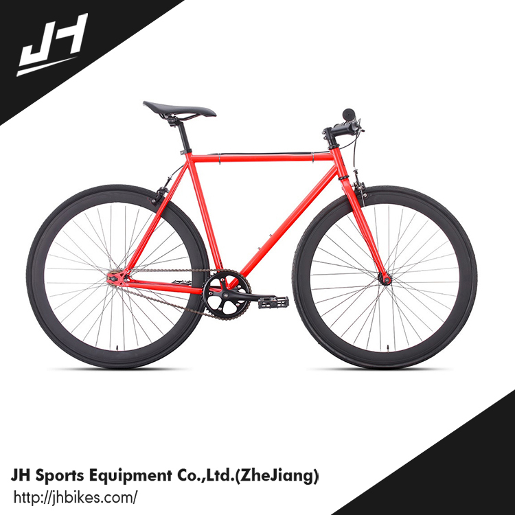 CE approved 700C AERO OEM Fixed Gear Bike with flip flop hub