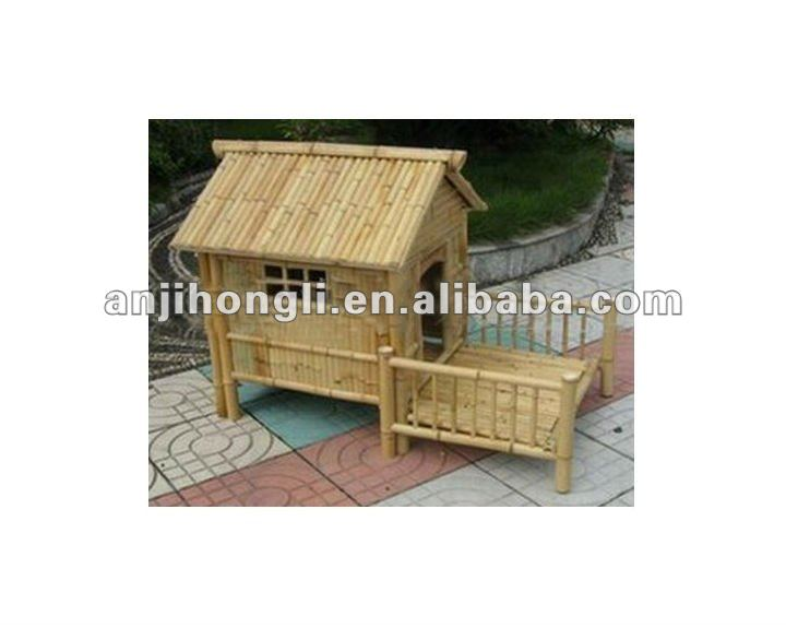 Natural Bamboo Pet Houses
