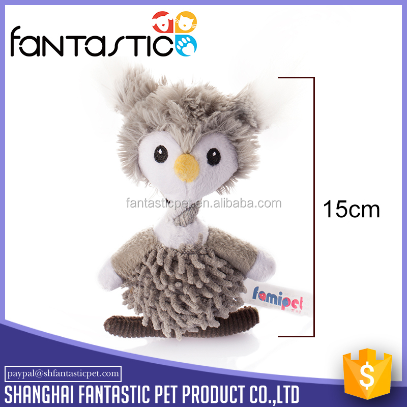 Indestructible Lovely dog owl toy with 420D nylon