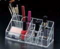 wholesale Black Acrylic Multiple Cosmetic Display Stand for Different Makeup