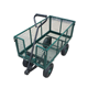 cheap folding mesh tool cart and garden hand trolley