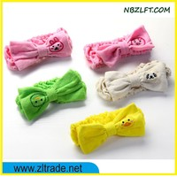 EMBROIDERY OF ANIMAL SHAPED TOWEL HAIR BAND