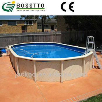 Hot sale oval above ground swiming pools above ground for Purchase above ground swimming pool