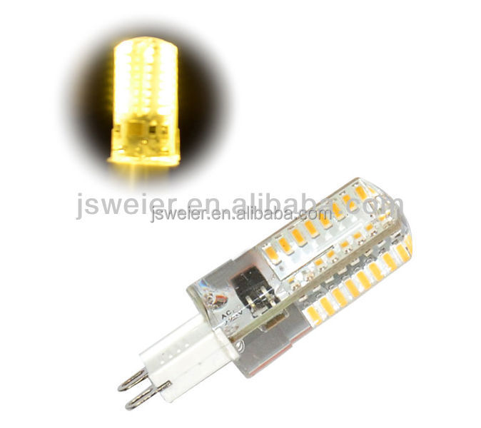 G9 Silicon Led 3014 64 SMD 3W Silicon Light