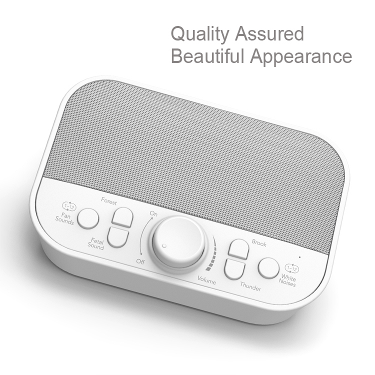 Hi-FiD Newest Portable Sleeping Machine with Real Non-Looping Nature Sounds