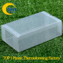 Underwear and sock plastic packaging Daily necessities floding box packing with scrub plastic material