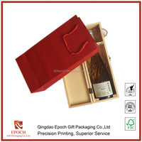 reasonable price and useful wine kraft paper bags