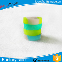 Color changing under sunshine eco-friendly silicone wristbands custom personalized silicone bracelet