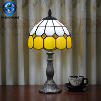 High quality and cheap price table LED lamp with new style glass material Tiffany lamp