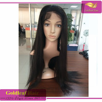 2015Christmas promotion 8a grade brazilian hair full lace wig 20 inches 30 inches