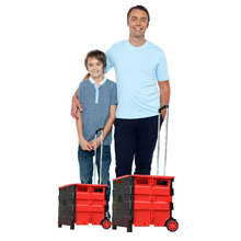 New Products Big Wheels And High Pull Rods Travel Box Luggage Wheel Water Bottle Vegetable Food Shopping Trolley Boxes