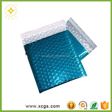 Metallic Bubble Mailer Envelope Packaging Material for Hair Extension