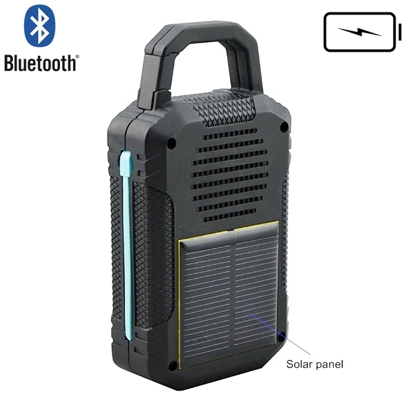new product 2015 power bank solar power bluetooth speaker