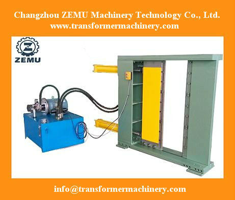 Safe and reliable Transformer corrugated fin wall panel bending machine