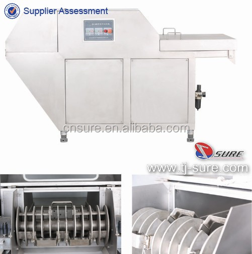 Frozen Meat Cutter/SUS304 Stainless Steel Frozen Meat Dicer Flaker for Sale