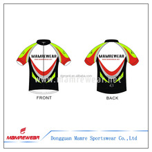 2017 Youth tight fit cycling bike jersey,customized sublimated cycling shirt for kids