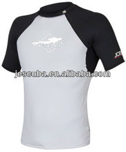 Men's Short Sleeve Compression Top, Custom Rash Guard Wear, GSM Rash Guard Shirt for men