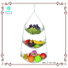 Stainless Steel 3 layer folding hanging Fruit Basket