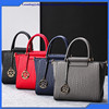 2016 Classic Hot Sale Trends Ladies Leather Shoulder Bag Girls Fashion Woven Pattern Handbags