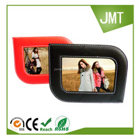 2016 Custom design leather picture frame photo frame