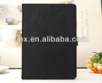 Wholesales High Quality Magnetic Flip Plain PU Leather Stand Case for Apple iPad Air iPad 5-Multi Color
