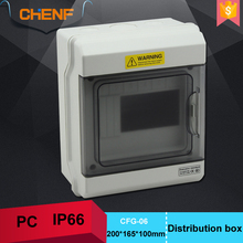 CE ROHS outdoor plastic enclosure waterproof box electrical power distribution box