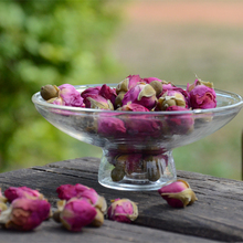 Dry rose tea organic rose bud flower used production of jam and bread