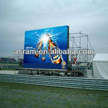 Trivision LED display board /LED screen P10 outdoor full color LED screen RGB double sided LED TV screen