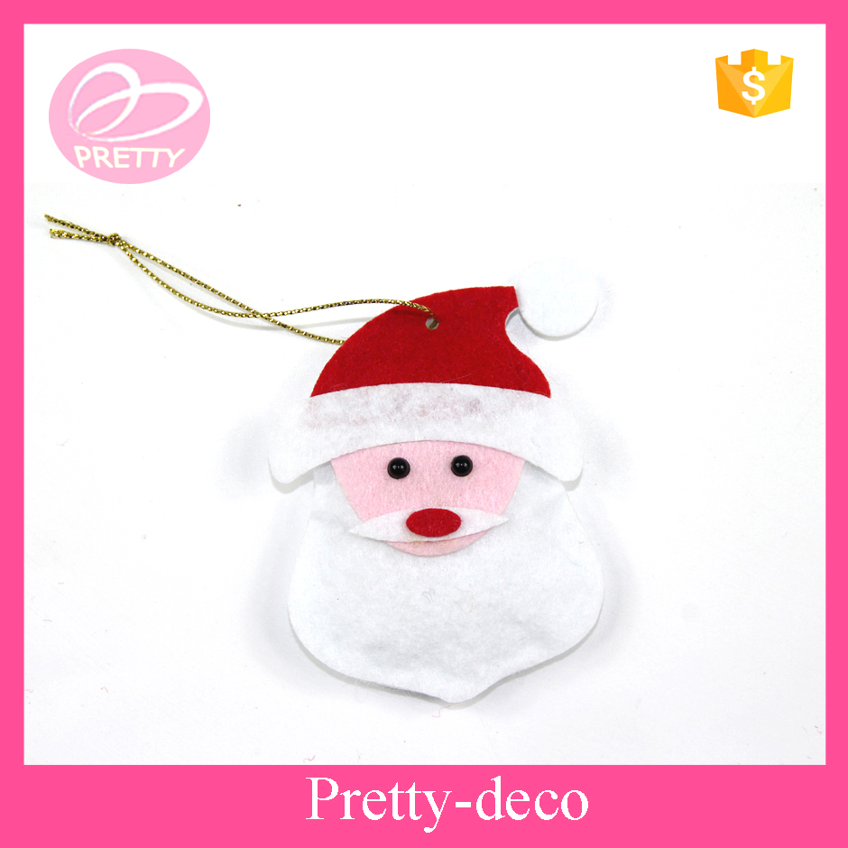Polyester Christmas Santa Claus door hanging decoration