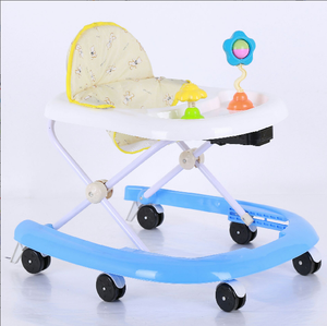 Hot sale high quality educational children play modern wheel baby walker