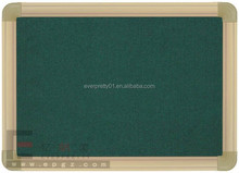 Hot Sale School Student Classrom Decorative Green Board & Black Cork Board