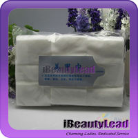 Lint free nail wipe nail cotton wipe white color nail wipes