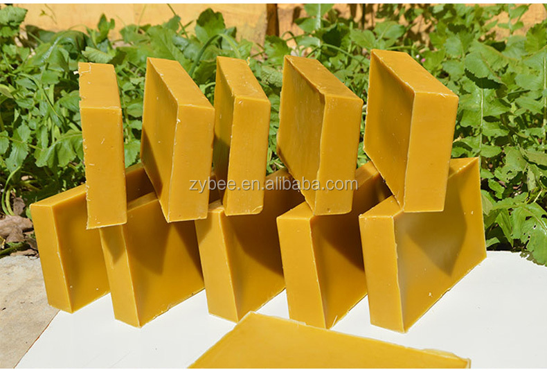 processing removing impurities refinning clean beeswax