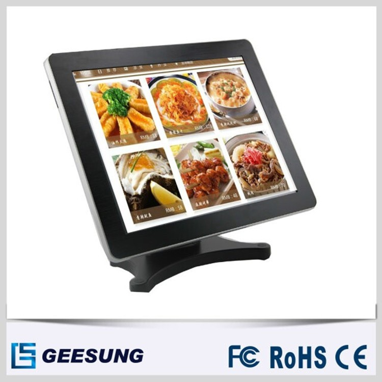 17 '' Touch Screen LCD monitor for POS system with pole display
