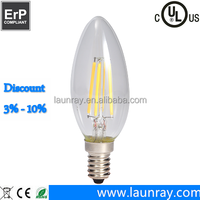 Buy PD Lamp dimmable led candelabra bulb e12 3w candelabra base ...
