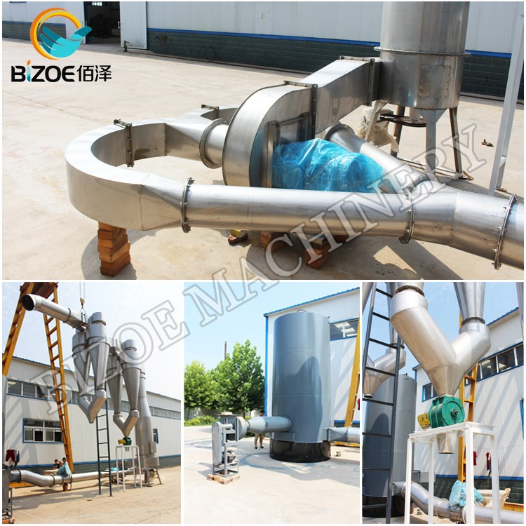 Full Automatic Large Capacity Cassava Flour Machine with High Efficiency