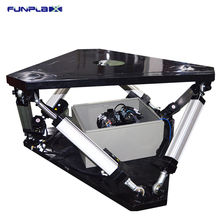 Guangzhou Leader Game 3dof 6dof iron motion simulator platform for sale with electric cylinder