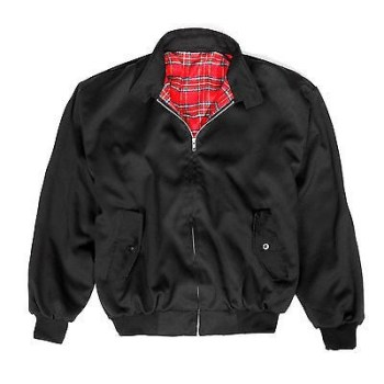 BRAND NEW MEN'S CLASSIC VINTAGE 1970'S BOMBER HARRINGTON TRENDY JACKET COAT