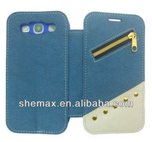 Ultra Thin Case For Samsung I9300 Galaxy S3 ,Folio Back Battery Cover Phone