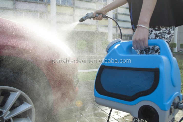 Low price portable pressure car washing machine with 15L tank - go kart,electric sprayer