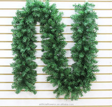 Wholesale 2.7 m 300 heads Artificial Green Christmas Garlands