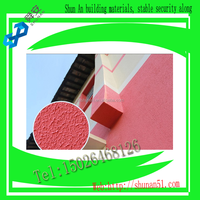 Exterior wall elastic protective coatings