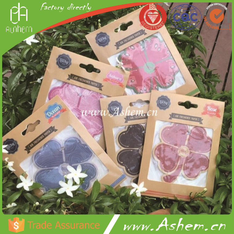 The best selling fragrance air fresheners car freshener with logo printing-IC 1014